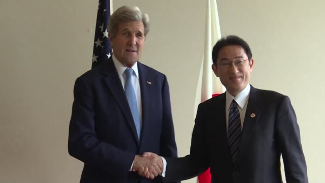 John Kerry and other G7 foreign ministers are set to make a landmark visit to the memorial site for the worlds first nuclear attack in Hiroshima the...