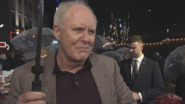 INTERVIEW John Lithgow on the film Christmas family tension working with Mel Gibson what it was it like on set at 'Daddy's Home 2' Premiere at Vue...