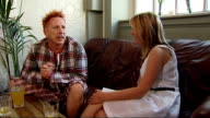 London INT John Lydon interview as drinks pint of beer SOT Jokes about antibiotics mixing with his beer On reputation/ I'm open minded and easy going...