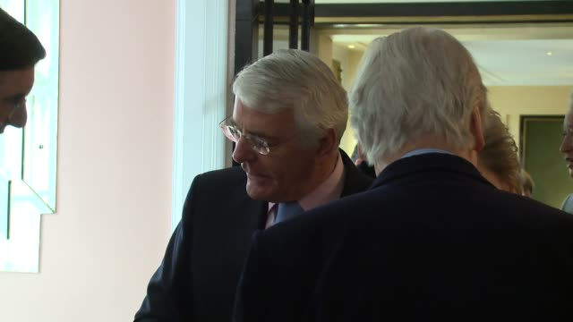 John Major at The Oldie of the Year Awards on February 4 2014 in London England