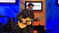 """PERFORMANCE John Mayer at """"Cool Comedy / Hot Cuisine"""" An Evening Benefitting the Scleroderma Research Foundation in Los Angeles CA"""