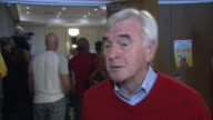 John McDonnell saying it's 'unacceptable' to remove the 1% pay cap for some public sector workers but not others