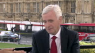 John McDonnell saying voters wanted Jeremy Corbyn's 'straight talking honest politics'