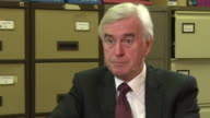John McDonnell sayng Philip Hammond has 'problems with the economy and the budget he's done as a result of that there will be tax rises under the...
