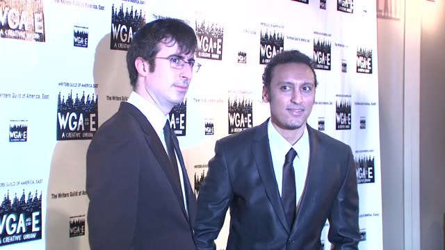 John Oliver and Aasif Mandvi at the 61st Annual Writers Guild Awards NY at New York NY