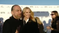 John Paul DeJoria and Eloise Broady at the 27th Annual Environmental Media Association Awards at Barker Hangar on September 23 2017 in Santa Monica...