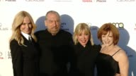 John Paul DeJoria Eloise Broady Debbie Levin and Frances Fisher at the 27th Annual Environmental Media Association Awards at Barker Hangar on...