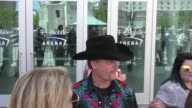 John Rich at the ACM Awards Radio Row at TMobile Arena on April 01 2017 in Las Vegas Nevada