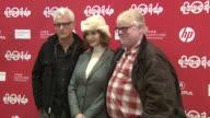 John Slattery Christina Hendricks and Philip Seymour at 'God's Pocket' 2014 Sundance Film Festival at Eccles Center Theatre on in Park City Utah