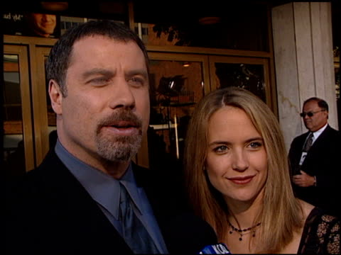 John Travolta at the Premiere of 'The General's Daughter' at the Mann Festival Theater in Westwood California on June 15 1999