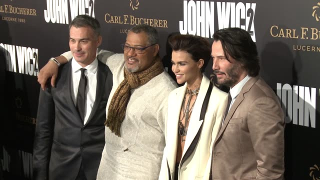 CHYRON 'John Wick Chapter 2' US Premiere at ArcLight Hollywood on January 30 2017 in Hollywood California
