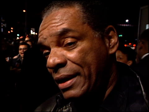 John Witherspoon at the 'Next Friday' Premiere at the Cinerama Dome at ArcLight Cinemas in Hollywood California on January 11 2000