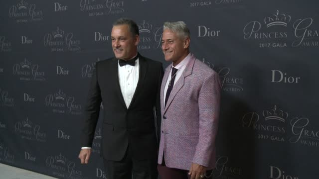 Johnny Chaillot and Greg Louganis at 2017 Princess Grace Awards Gala With Presenting Sponsor Christian Dior Couture at The Beverly Hilton Hotel on...