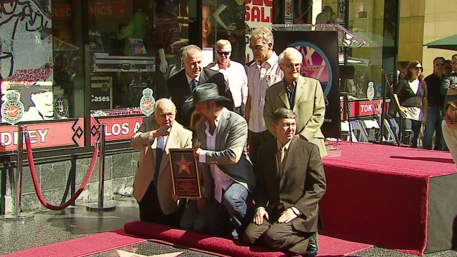 Johnny Grant Faith Hill and Tim McGraw and Leron Gubler Tom LeBonge Billy Bob Thornton and Richard Zanuck at the Dediction of Tim McGraw's Star on...