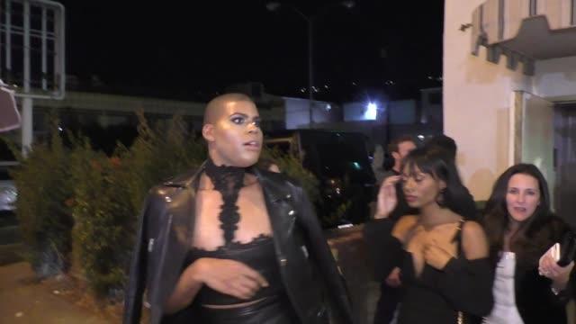 EJ Johnson leaves Delilah in West Hollywood in Celebrity Sightings in Los Angeles