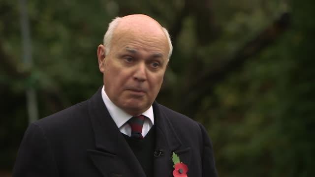 Johnson to meet with family of jailed BritishIranian woman Nazanin ZaghariRatcliffe ****REMAINDER EXT Iain Duncan Smith MP interview SOT