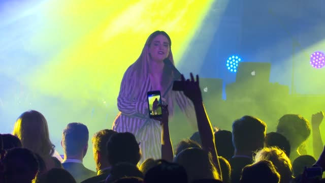PERFORMANCE – JoJo at Daniel E Straus CareOne Starry Night Masquerade For Puerto Rico at Skylight Clarkson Sq on October 19 2017 in New York City
