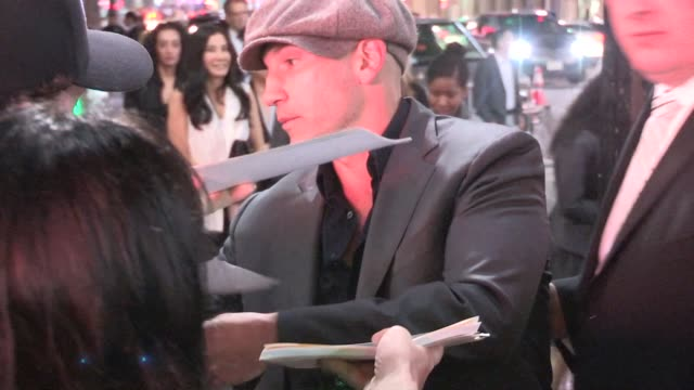 Jon Bernthal greets fans at the Cesar Chavez Premiere at the TCL Chinese Theatre in Hollywood on March 20 2014 in Los Angeles California