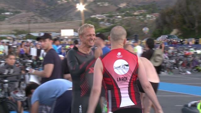Jon Cryer and Patrick Fabian at Nautica Malibu Triathlon Presented By Equinox on September 20 2015 in Malibu California