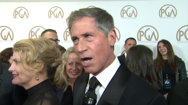 INTERVIEW Jon Feltheimer on receiving the Milestone Award at 26th Annual Producers Guild Awards in Los Angeles CA