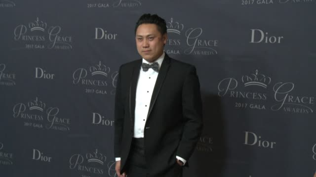 Jon M Chu at 2017 Princess Grace Awards Gala With Presenting Sponsor Christian Dior Couture at The Beverly Hilton Hotel on October 25 2017 in Beverly...