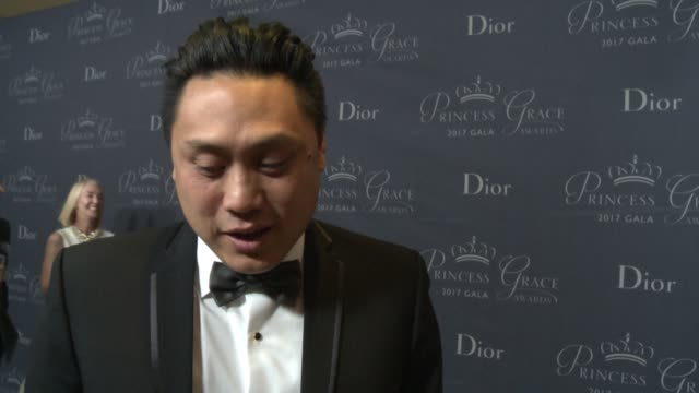 INTERVIEW Jon M Chu on why it's important to have organizations like the Princess Grace Foundation how winning a Princess Grace award impacted his...