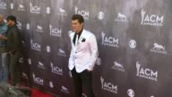 Jon Pardi at the 49th Annual Academy of Country Music Awards Arrivals at MGM Grand Garden Arena on April 06 2014 in Las Vegas Nevada