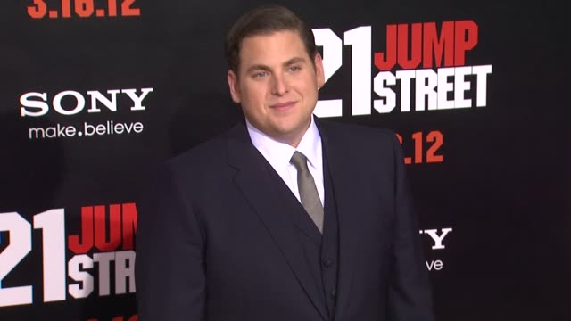 Jonah Hill at 21 Jump Street Los Angeles Premiere on 3/13/12 in Hollywood CA