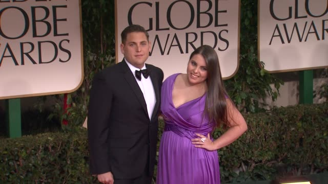 Jonah Hill at 69th Annual Golden Globe Awards Arrivals on January 15 2012 in Beverly Hills California