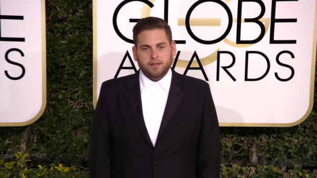 Jonah Hill at 74th Annual Golden Globe Awards Arrivals at 74th Annual Golden Globe Awards Arrivals at The Beverly Hilton Hotel on January 08 2017 in...