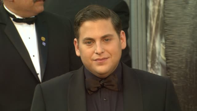 Jonah Hill at 84th Annual Academy Awards Arrivals on 2/26/12 in Hollywood CA