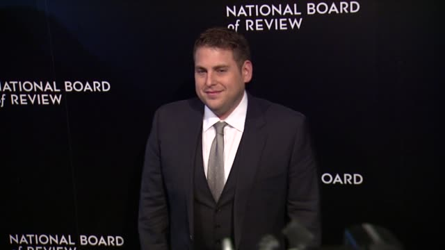 Jonah Hill at National Board of Review Awards Gala at Cipriani 42nd Street on in New York USA