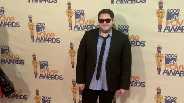 Jonah Hill at the 18th Annual MTV Movie Awards at Universal City CA