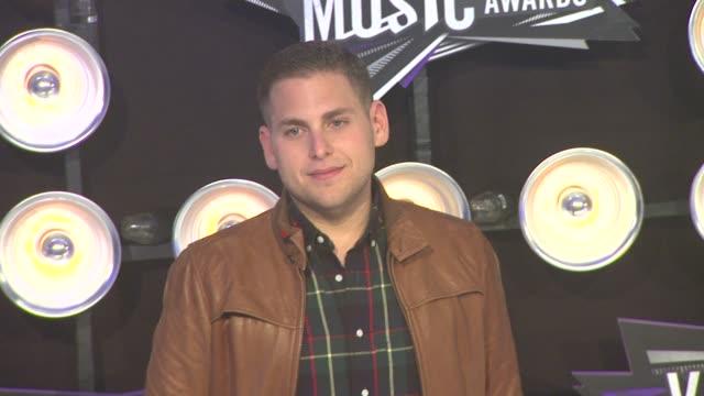 Jonah Hill at the 2011 MTV Video Music Awards at Los Angeles CA