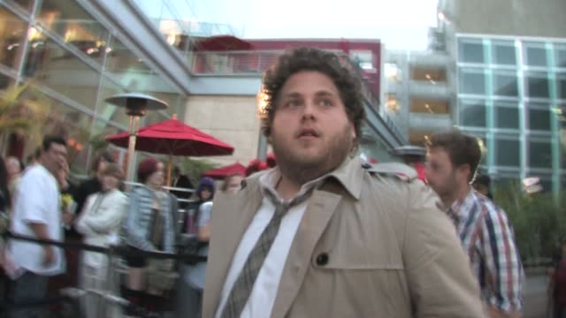 Jonah Hill outside the Arclight Hollywood Cinema at the Celebrity Sightings in Los Angeles at Los Angeles CA