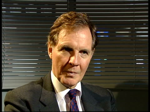 ITN Jonathan Aitken interviewed SOT Butler is professional student of workings of intelligence service Official looking thru MI6 intelligence folders
