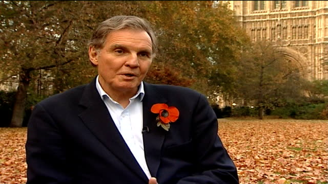 Jonathan Aitken to lead Conservative task force on prison reform London Westminster Jonathan Aitken interview SOT Those who've had worm's eye view of...