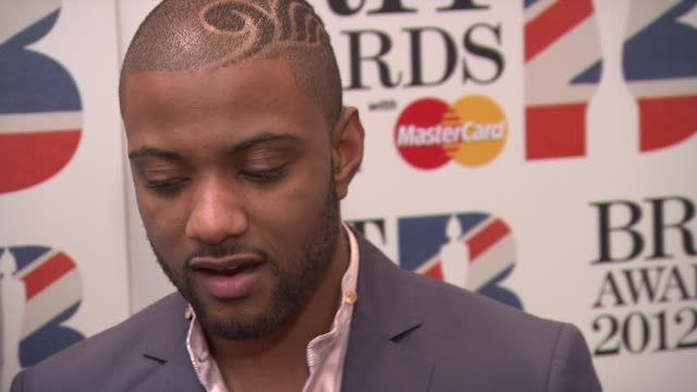 Jonathan 'JB' Gill Marvin Humes Oritse Williams and Aston Merrygold of JLS at The BRIT Awards 2012 Nominations Announcement at The Savoy Hotel on...