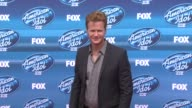 Jonathan Mangum at the 'American Idol' XIV Grand Finale Arrivals at Dolby Theatre on May 13 2015 in Hollywood California