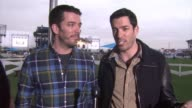 INTERVIEW Jonathan Scott and Drew Scott on the event who they're rooting for in the big game and who they're excited to see perform at DIRECTV...