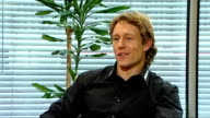 Jonny Wilkinson interview ENGLAND London GIR INT Jonny Wilkinson interview SOT Talks about working with Gillette and promoting their shaving range /...