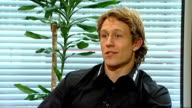 Jonny Wilkinson interview Wilkinson interview SOT Talks about who can win the Six Nations says he is impressed by Wales / Players to watch for in the...