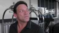 INTERVIEW Jordan Belfort talks about what you can can't write off while departing at LAX Airport in Los Angeles in Celebrity Sightings in Los Angeles