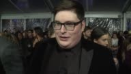 INTERVIEW Jordan Smith on the event at People's Choice Awards 2016 at Nokia Plaza LA LIVE on January 06 2016 in Los Angeles California