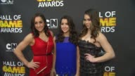 Jordyn Wieber Aly Raisman McKayla Maroney at Cartoon Network Hosts Third Annual Hall Of Game Awards on 2/9/13 in Los Angeles CA