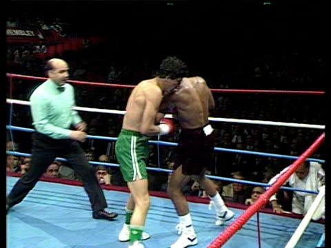 Jorge Vaca vs Lloyd Honeyghan