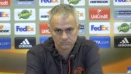 Jose Mouinho gives an update on the team news at Man United ahead of their Europa League fixture He says Waybe Rooney is not completely fit yet but...