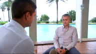 Jose Mourinho interview on World Food Programme visit Mourinho interview SOT On whether Qatar should hold the 2022 World Cup / Sepp Blatter / on...