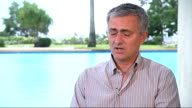 Jose Mourinho wants to be England Manager one day IVORY Mourinho interview SOT More on Lampard returning to Chelsea in the future / Mr Abramovich...