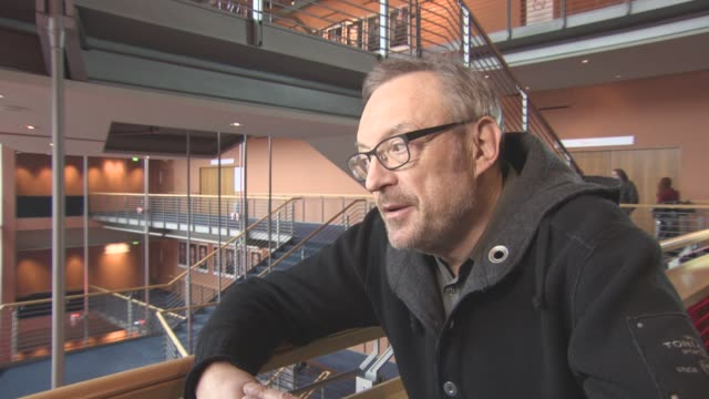 INTERVIEW Josef Hader on his first idea for the film at Berlin Film Festival 'Wild Mouse' Interviews at Berlinale Palast on February 12 2017 in...